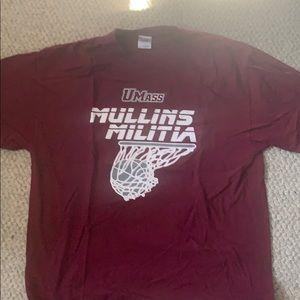 UMass Basketball Mullins Militia T Shirt